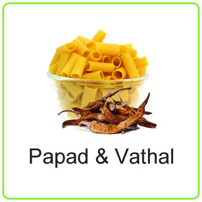Papad & Vathal